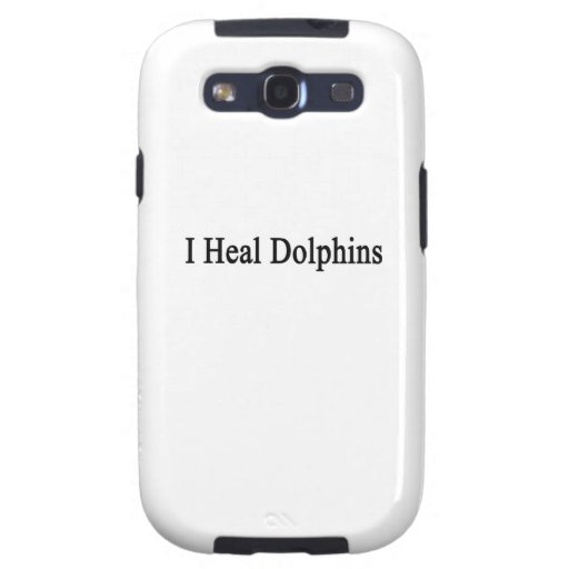 I Heal Dolphins Galaxy SIII Cover
