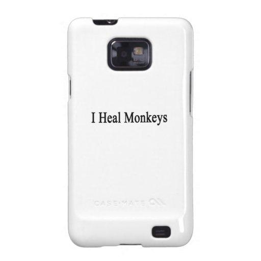 I Heal Monkeys Samsung Galaxy S Case