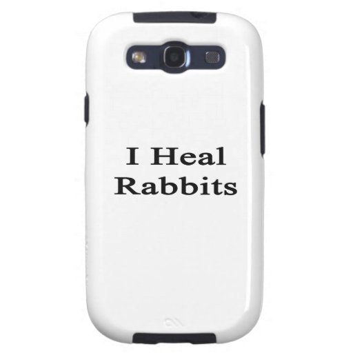 I Heal Rabbits Samsung Galaxy S3 Covers