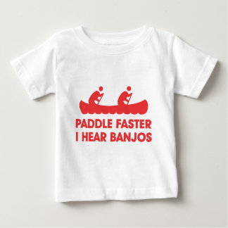 I Hear Banjos Baby T-Shirt