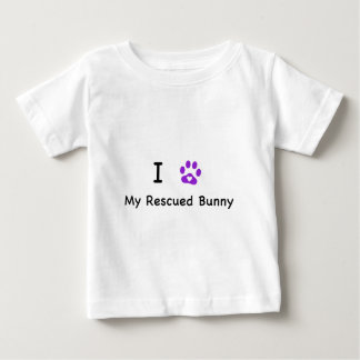 I Hear My Rescued tBunny Baby T-Shirt