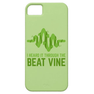 I Heard It Through The Beat Vine iPhone 5 Cover
