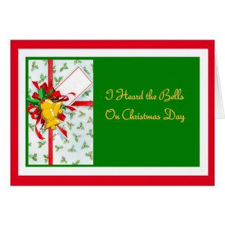 I Heard the Bells Christmas Card