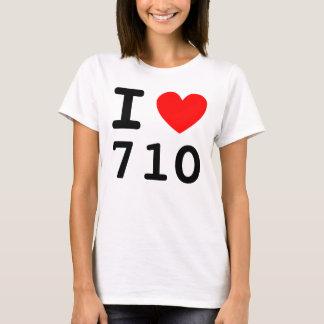 I Heart 710 Shirt
