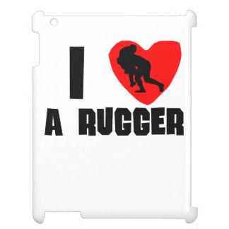 I Heart A Rugger iPad Cases