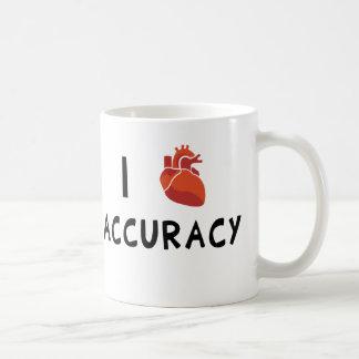 I Heart Accuracy Coffee Mug