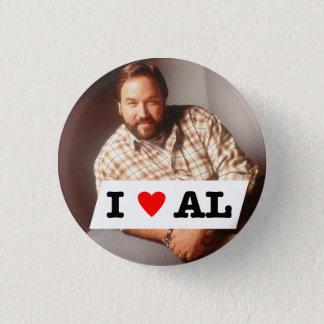 I Heart AlButton 1 Inch Round Button