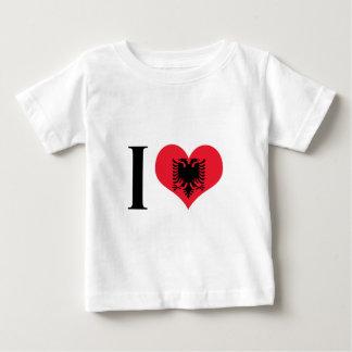 I Heart Albania - I Love Albania - Albanian Flag Baby T-Shirt