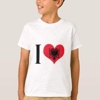 I Heart Albania - I Love Albania - Albanian Flag T-Shirt