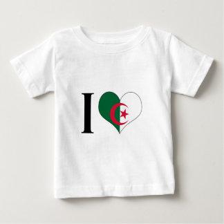 I Heart Algeria - I Love Algeria - Algerian Flag Baby T-Shirt