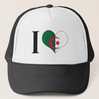 I Heart Algeria - I Love Algeria - Algerian Flag Trucker Hat