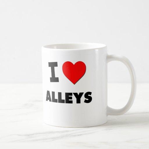 I Heart Alleys Mug