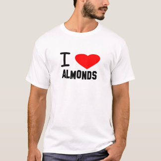 I Heart ALMONDS T-Shirt
