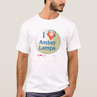 I Heart Amber Lamps T-Shirt