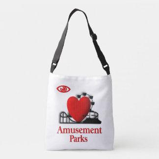 I Heart Amusement Parks Crossbody Bag