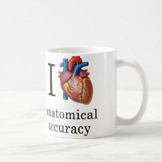 I Heart Anatomical Accuracy Mug