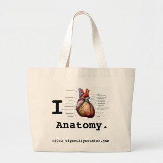 I Heart Anatomy Tote Bag
