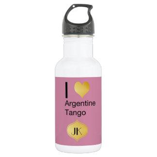 I Heart Argentine Tango 532 Ml Water Bottle