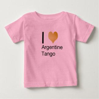 I Heart Argentine Tango Baby T-Shirt