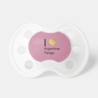 I Heart Argentine Tango Pacifier