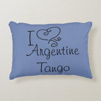 I Heart Argentine Tango Pillow