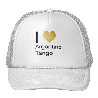 I Heart Argentine Tango Trucker Hat