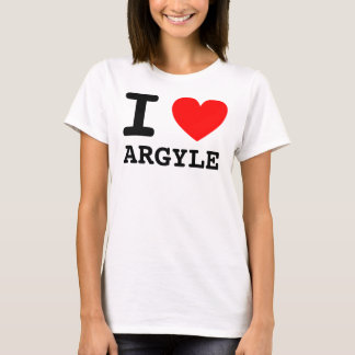 I Heart ARGYLE T-Shirt