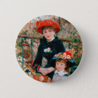 I Heart Art - Renoir 2 Inch Round Button