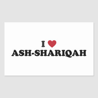 I Heart Ash-Shāriqah Sharjah United Arab Emirates Sticker