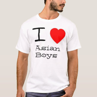 I *heart* Asian Boys T-Shirt