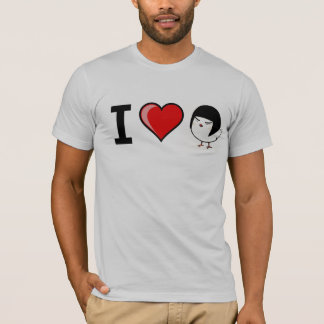 I Heart Asian Chick T-Shirt