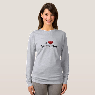 I Heart Asian Men - Long Sleeve T-Shirt