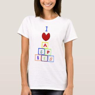 I Heart Aspies T-Shirt