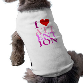 I HEART ATTENTION TSHIRT