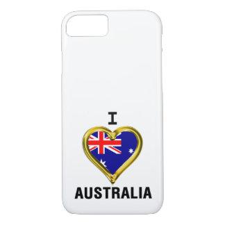 I HEART AUSTRALIA iPhone 7 CASE