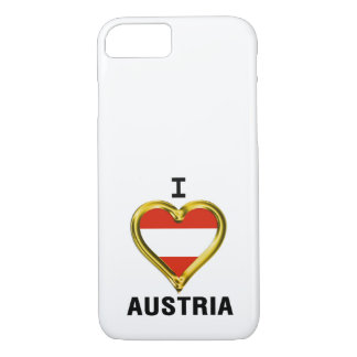 I HEART AUSTRIA iPhone 7 CASE