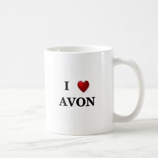 i heart avon coffee mug