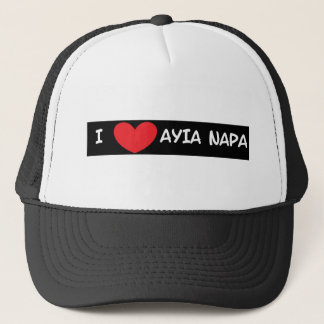 I heart Ayia Napa Trucker Hat