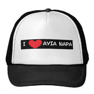 I heart Ayia Napa Trucker Hat