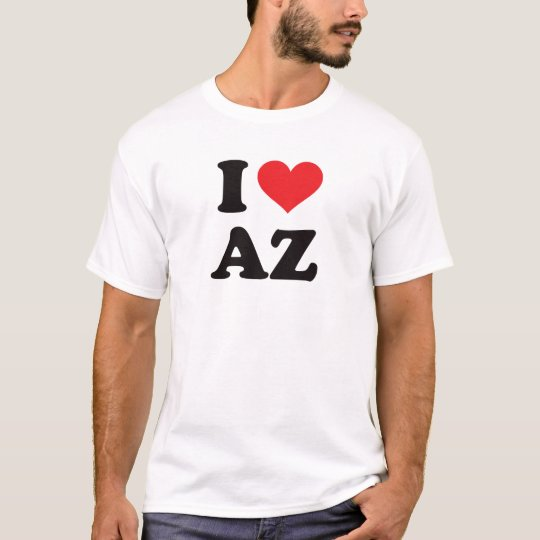 I Heart AZ - Arizona T-Shirt