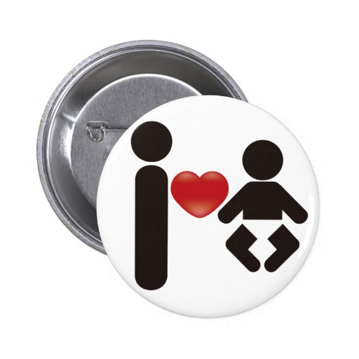 I Heart Baby Buttons