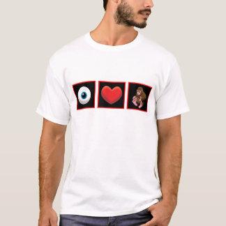 I HEART BABY SQUATCH T-Shirt