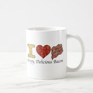 I Heart Bacon Coffee Mug