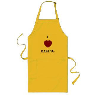 """I """"heart"""" BAKING apron"""