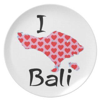 I heart Bali Plate