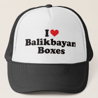 I Heart Balikbayan Boxes Trucker Hat