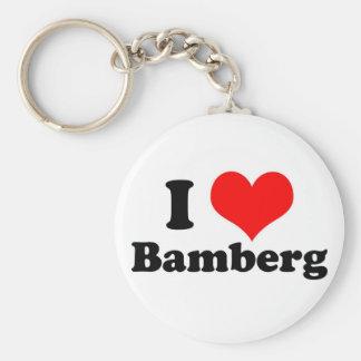 I heart Bamberg Keychain