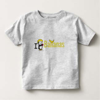 I Heart Banans Toddler T-shirt