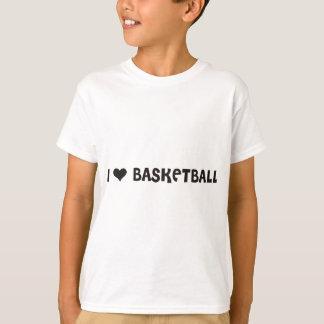 I HEART basketball-10x10 T-Shirt