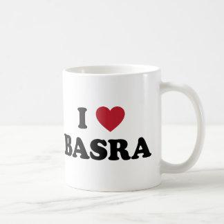 I Heart Basra Iraq Basic White Mug